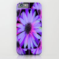 iPhone Cases featuring Elegant Painted Flowers  by Judy Palkimas