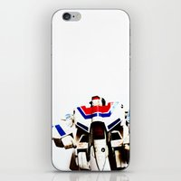 Let's Fight Like Robots iPhone & iPod Skin