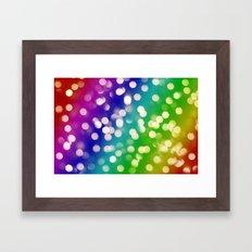 Lights & Gradients VI Framed Art Print