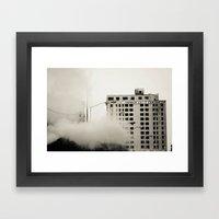 Hot Child In The City Framed Art Print