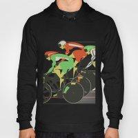 Velodrome Bike Race Hoody