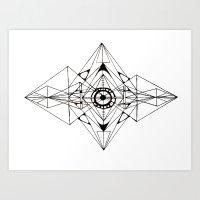 Linear Art Print