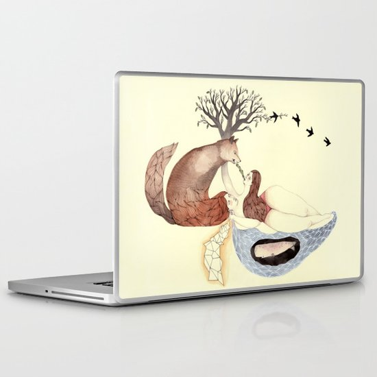 The Good Fight Laptop & iPad Skin