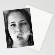 smoker and the thief  Stationery Cards