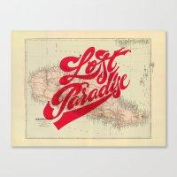 Lost Paradise Canvas Print