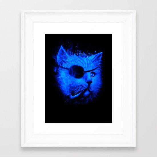 Irie Eye Blue Framed Art Print