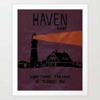 Haven Tourism Board Art Print