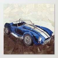 Shelby Cobra Canvas Print