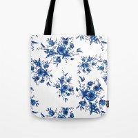 FOLK FLOWERS Tote Bag