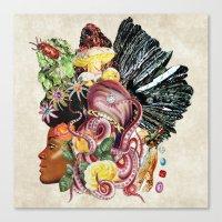 Black Beauty Canvas Print