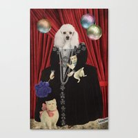 Animal Collection -- Jez… Canvas Print
