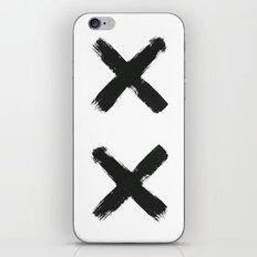 Black Cross iPhone & iPod Skin