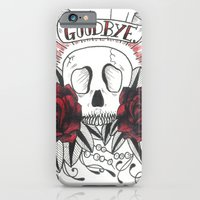 iPhone & iPod Case featuring goodbye by Kitty Judge