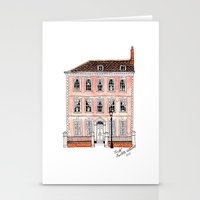 Queens Square Bristol by Charlotte Vallance Stationery Cards