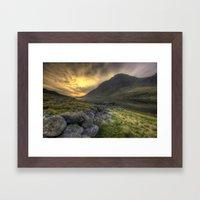 Tryfan By Morning Framed Art Print