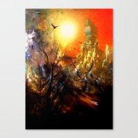 Altın Şehir Canvas Print
