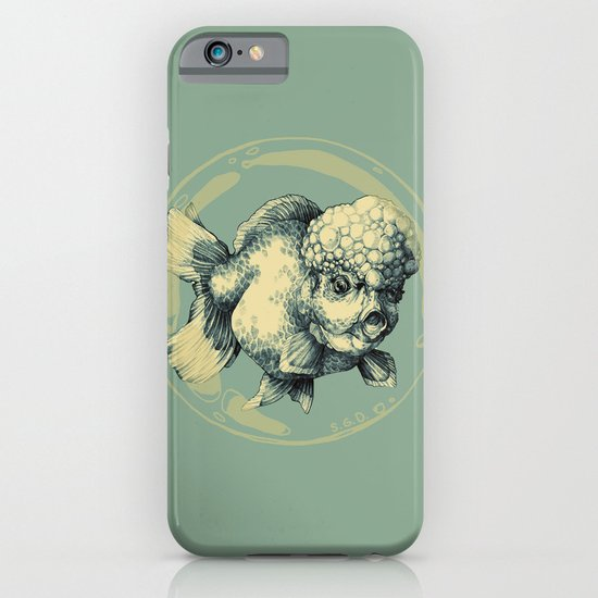 Bubble Head Fish iPhone & iPod Case
