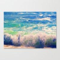Aqua Mist Canvas Print