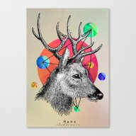 Canvas Print featuring Animals by Mark Ashkenazi