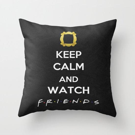 F.R.I.E.N.D.S - Keep Calm Throw Pillow