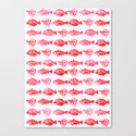 Cosmic Fish Canvas Print