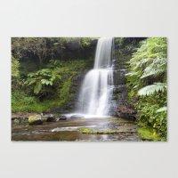 Blaen-y-glyn Waterfall 6 Canvas Print