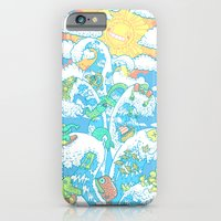 iPhone Cases featuring Tower of Fable by Anna-Maria Jung