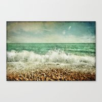 Beside the Sea V Canvas Print
