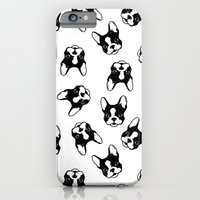 French Bulldog Pattern iPhone 6 Slim Case