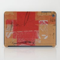 CROSS OUT #4 iPad Case