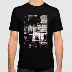 Concrete Jungle 1 Mens Fitted Tee SMALL Black