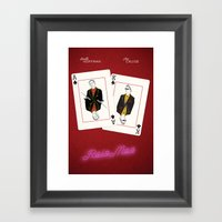 Rain Man Framed Art Print