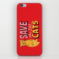 Save the LOL Cats iPhone & iPod Skin