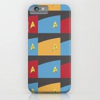 iPhone & iPod Case featuring Star Trek - Insignia by Alex Patterson AKA frigopie76