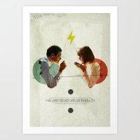 Bland | Collage Art Print