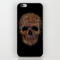 Acid Skull iPhone & iPod Skin