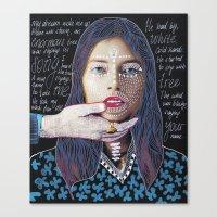 ::dream for a while:: Canvas Print