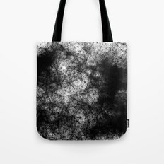 Artificial Constellation Dark Matter Tote Bag