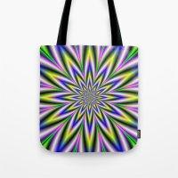 Twelve Pointed Star Tote Bag