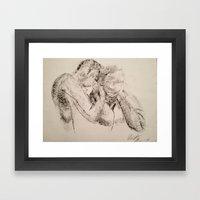 Embrace Framed Art Print