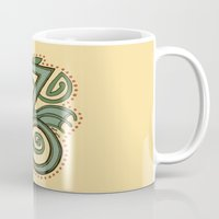 Celtic Dragon Letter Z Mug