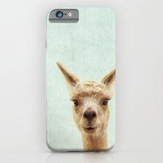 Alpaca Portrait iPhone 6 Slim Case