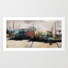 Charm City, MD Art Print