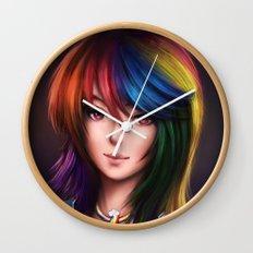 Rainbowdash Wall Clock