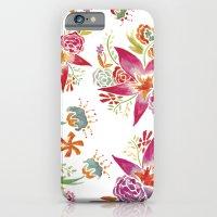 Tropical Flowers Waterco… iPhone 6 Slim Case