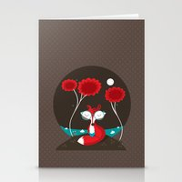 About A Red Fox Stationery Cards