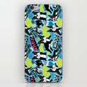 Boston Terrier Pattern iPhone & iPod Skin