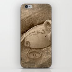 Antique cup iPhone & iPod Skin