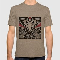 EA 23 Mens Fitted Tee Tri-Coffee SMALL