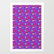 Triangles! Art Print